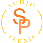 SP audio teknik logo